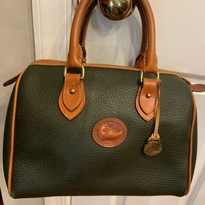 vintage Dooney and Bourke All Weather Leather bag